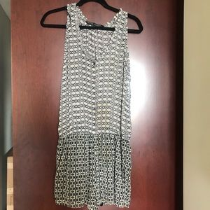 Zara Basic Button Up Romper As Is